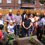 Coville's Community Garden is now officially open