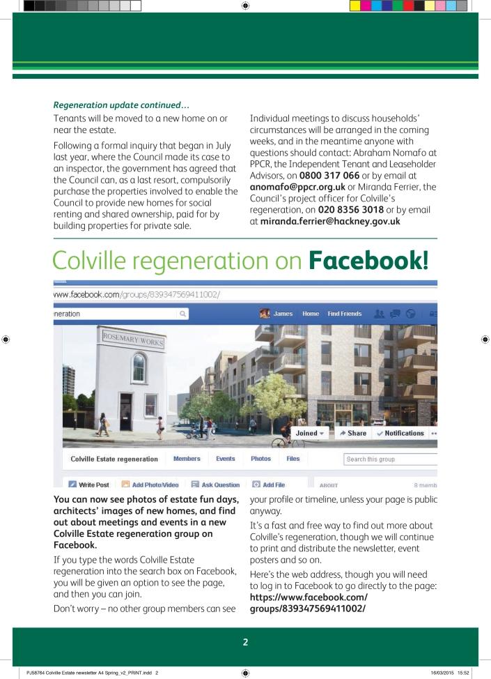 Colville Estate newsletter A4 Spring-2