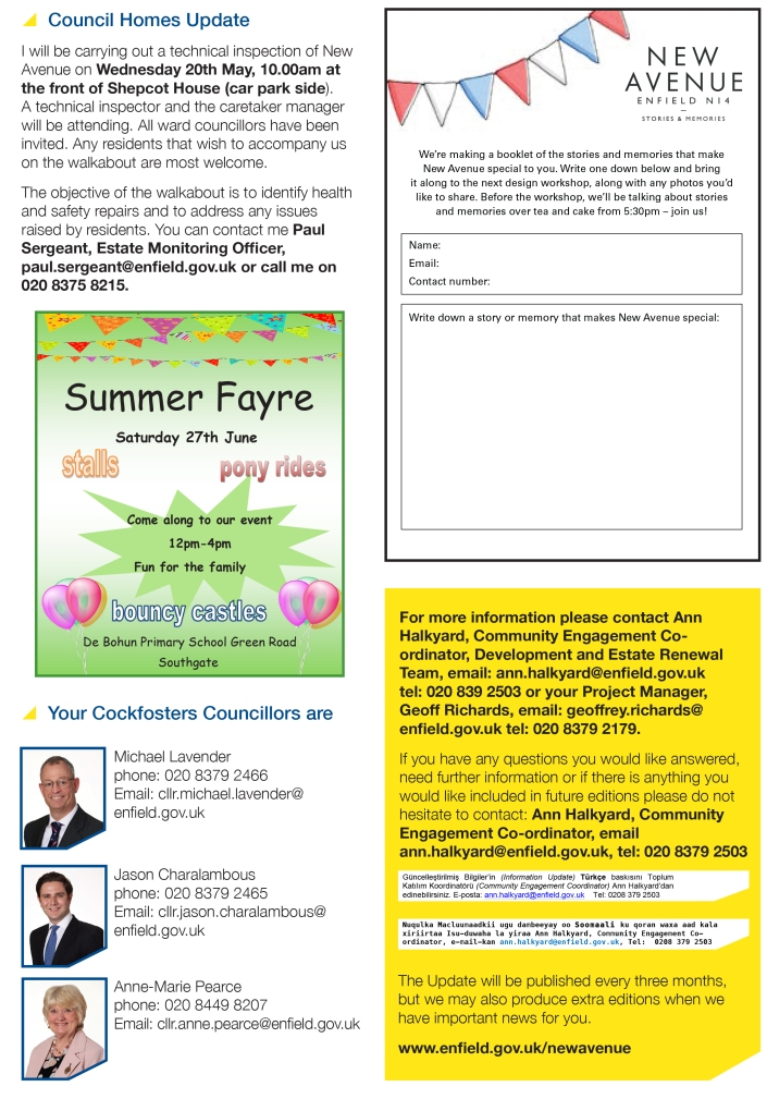 New Avenue Information Update Issue 4 May 2015 p4